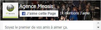 Suivez Meosis sur Facebook